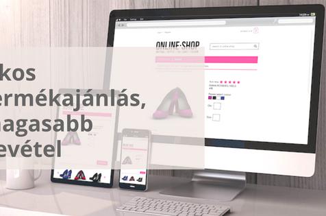 webáruház termékajánlás